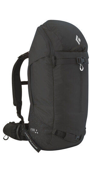 Black Diamond Saga 40 - Mochila antiavalancha - Jetforce negro